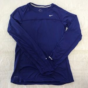 Nike Long-Sleeve Dri-Fit Shirt